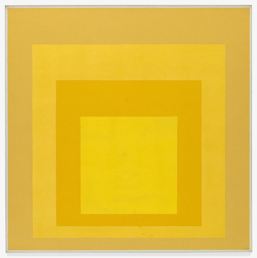 Joseph Albers - Study for Homage to the Square: Dry Land, 1964